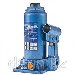 Домкрат гидравлический бутылочный, 5 т, H подъема 197-382 мм Stels