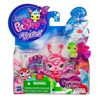 Набор Littlest Pet Shop с феей Mint Shimmer и червячок, фото 1