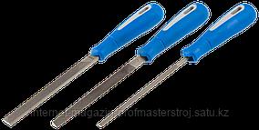 Набор напильников №2, 150 мм, 3 шт в наборе, серия «ПРОФЕССИОНАЛ», ЗУБР