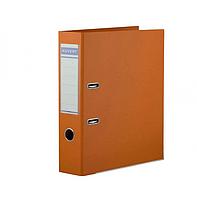 Папка регистратор Kuvert, А4, 75мм, ПВХ-ЕСО оранжевый