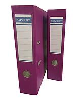 Папка регистратор Kuvert, А4, 75мм, ПВХ-ЕСО фуксия