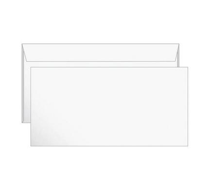 Конверт Е65 Ряжская печатная фабрика (110х220 мм) белый, удаляемая лента