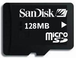 Карта памяти Micro SDXC 128Gb Transcend, Class 10