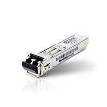 D-Link, Трансивер, 310GT/A1A, 1 порт 1000Base-LX, LC коннектор, Duplex, Одномодовый, 10 км