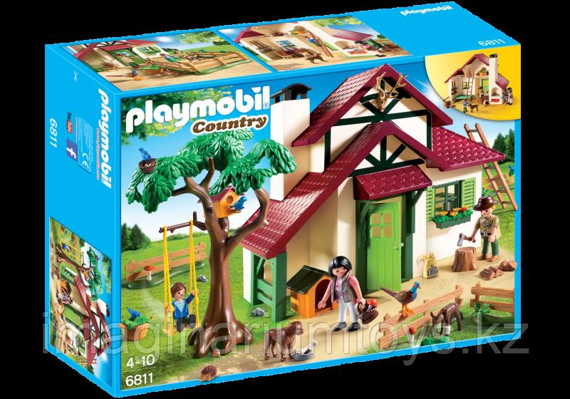 Детский конструктор Playmobil «Дом в лесу»