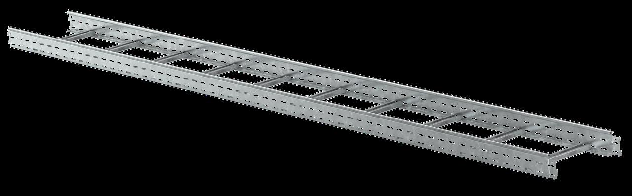 Лоток лестничный 80х300х3000, 1,2 мм