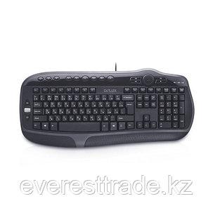 Клавиатура, Delux, DLK-9050UB, USB, Кол-во стандартных клавиш 104, 16 мультимедиа-клавиш, фото 2