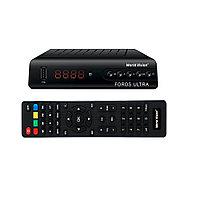 World Vision Foros Ultra T2/S2 - комбинированный HD ресивер DVB-S2/T2/T2-MI, Ethernet, IPTV, фото 1