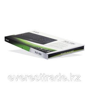 Клавиатура, Delux, DLK-1900UB, Ультратонкая, USB, Кол-во стандартных клавиш 103, 18 мультимедиа-клавиш, фото 2