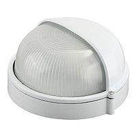 Светильник НПП 1303 белый/круг п/сфера 60Вт IP54 IEK
