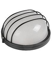 Светильник НПП 1306 черный/круг сетка 60Вт IP54 IEK
