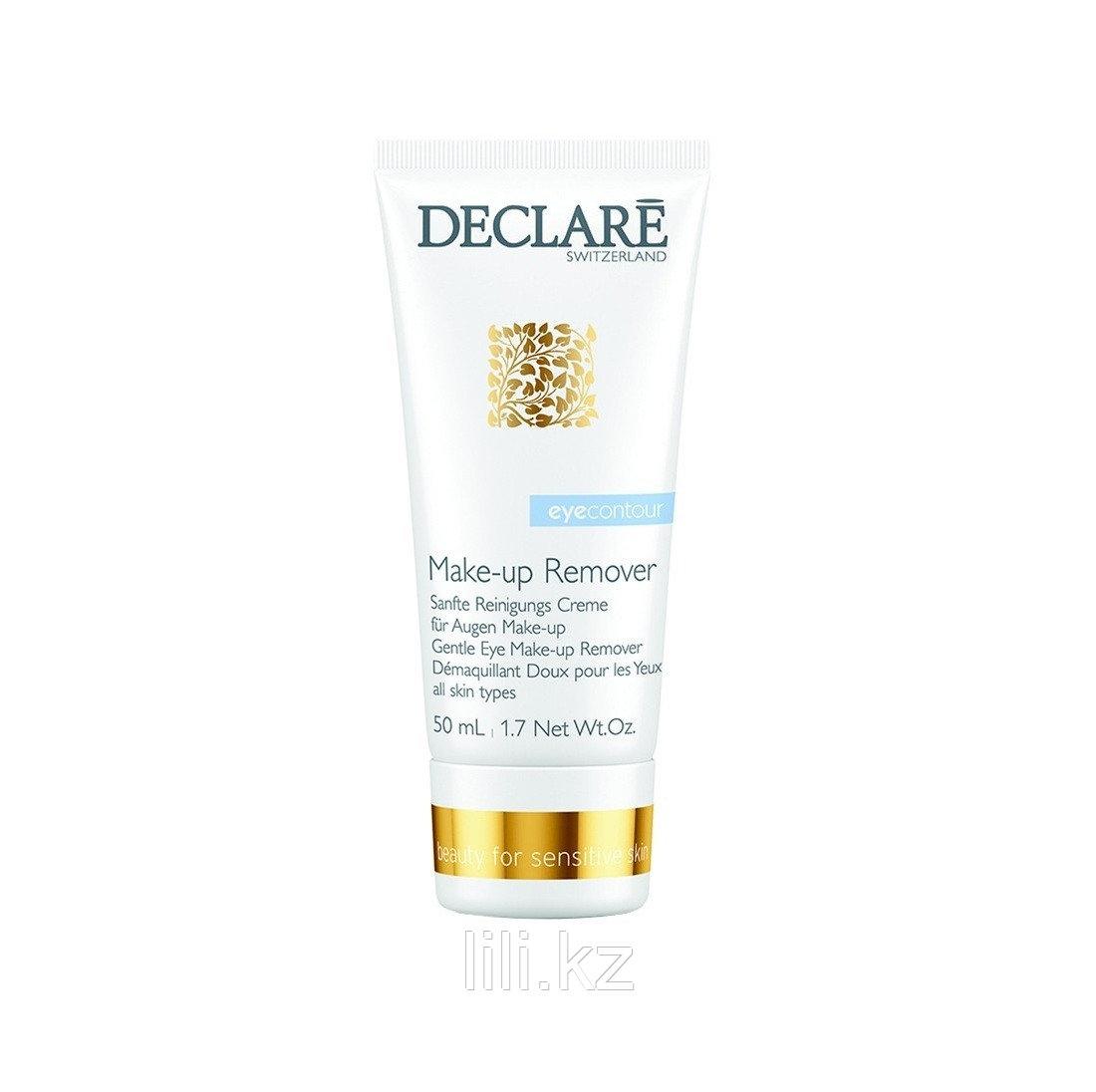 Мягкий гель для удаления макияжа с глаз Declare Gentle Eye Make-up Remover 50 мл.