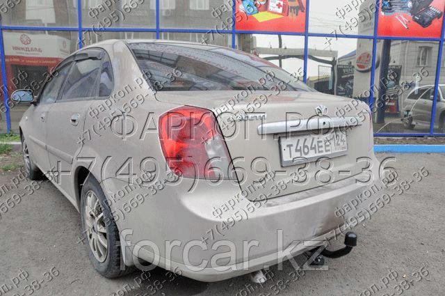 ТСУ (фаркоп) на Daewoo Gentra 2013-, Daewoo Nubira седан 2003/6-2012, Chevrolet Lacetti седан 2003/6-2012