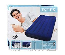 Односпальный надувной матрас (односпалка) 99х191х22см Classic Downy Bed Twin