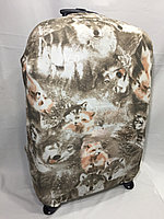 Чехол на большой дорожный чемодан.Высота 73 см, длина 48 см, ширина 28 см.