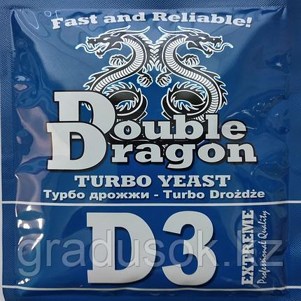 Дрожжи спиртовые Double Dragon D 3, фото 2