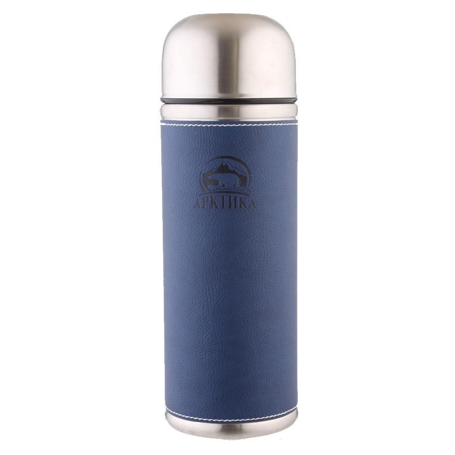 Термос ARCTICA (1л)(26ч)(металл)-синий