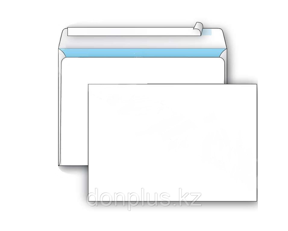 Конверт С5 KurtStrip (162х229 мм) белый, удаляемая лента, внутренняя запечатка
