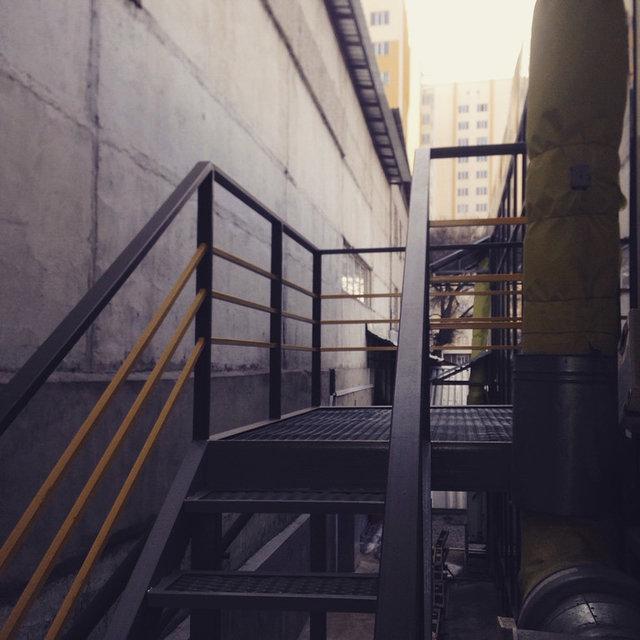 Пожарная лестница 3