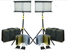 Светодиодная (LED) панель для фото / видео Camtree 2000 (2 осветителя)