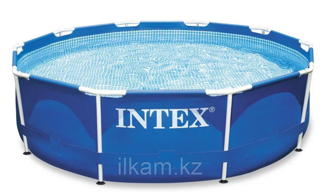 Каркасный бассейн intex 3.05м*0.76м с фильтром сборно-разборный