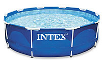 Каркасный бассейн intex 3.05м*0.76м с фильтром сборно-разборный 28202
