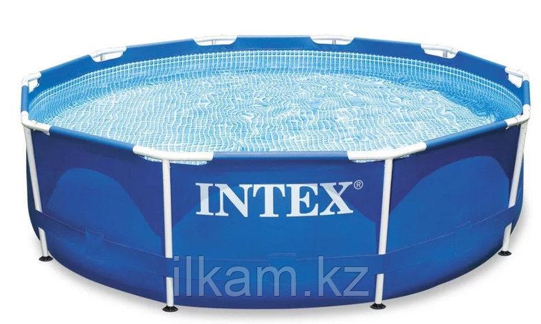 Каркасный бассейн intex 3.05м*0.76м с фильтром сборно-разборный, фото 2