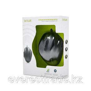 Мышь, Delux, DLM-537OUB, 7D, Оптическая, 1000-1600dpi, USB, кабель 1,5м, фото 2