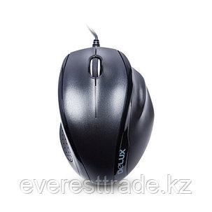 Мышь, Delux, DLM-396OUB, 3D, Оптическая, 1000dpi, USB, Длина кабеля 1,6 метра, Размер: 113,6*79,4*39,5 мм, фото 2