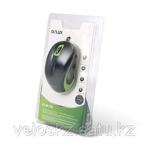 Мышь, Delux, DLM-133OUB, 3D, Оптическая, 1000dpi, USB, Длина кабеля 1.6 м, фото 2
