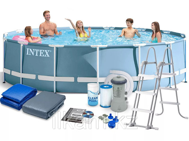 Каркасный бассейн Intex 28736 , 457 см х 122 см, фото 2