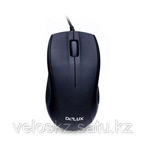 Мышь, Delux, DLM-375OUB, Оптическая, 800dpi, USB, Длина кабеля 1.6 метра, фото 2