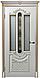 """Дверь Эмаль """"Александрия""""(патина золото,  ваниль), фото 2"""