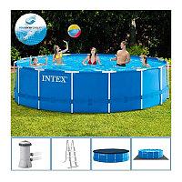 Каркасный бассейн 457x122 см, полный комплект, Intex 28242
