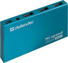 Разветвитель Defender Septima Slim USB2.0  7портов HUB