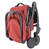 Pituso: коляска детская прогулочная Smart BERRY ягодный лен B19, фото 7