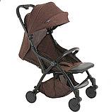 PITUSO коляска детская прогулочная SMART CHOCOLATE шоколадный лен B19, фото 3