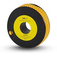 "Маркер кабельный Deluxe МК-1 (2.6-4,2 мм) символ ""1"""