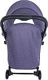 PITUSO коляска детская прогулочная SMART Purple лавандовый лен B19, фото 4