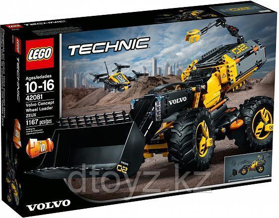 Lego Technic 42081 VOLVO колёсный погрузчик ZEUX, Лего Техник