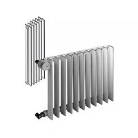 Радиатор трубчатый 2-рядный Zender Excelsior E 2120/4 (секция)