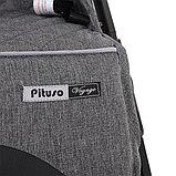 Коляска прогулочная  PITUSO Voyage Dark Grey тёмно-серый, фото 4