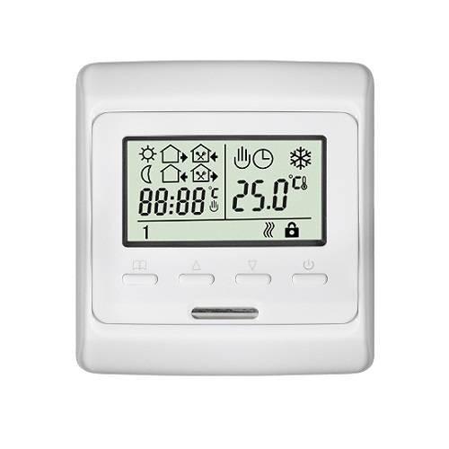 Термостат комнатный кнопочный Techno Е51