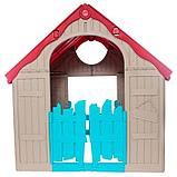 Игровой дом KETER складной FOLDABLE PLAYHOUSE (101.8x89.7x110.6h),  арт. 17202656, фото 3