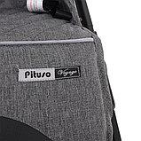 Коляска прогулочная  PITUSO Voyage Grey серый, фото 4