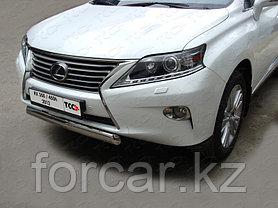 ОБВЕС защитно-декоративный из нержавеющей стали LEXUS RX 350/450h c 2012, фото 3