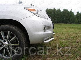 ОБВЕС защитно-декоративный из нержавеющей стали LEXUS LX 570 2007-2012, фото 2
