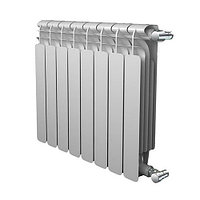 Радиатор биметаллический секционный Sira Alice Bimetal 500 - 9 секций