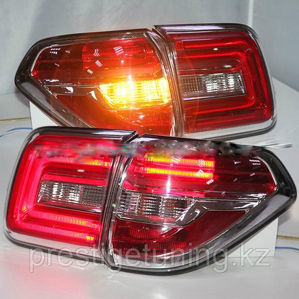 Задние фонари на Nissan Patrol Y62 2010-19 Рестайлинг