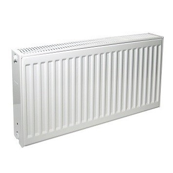 Радиатор панельный профильный PURMO Compact тип 33 - 300x400 мм (подкл. боковое правое, белый)